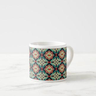 モロッコの幾何学的な文化1 エスプレッソカップ