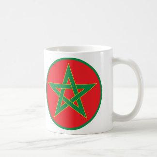 モロッコの旗のマグ コーヒーマグカップ