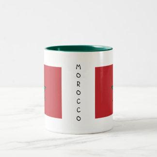 モロッコの旗のマグ ツートーンマグカップ