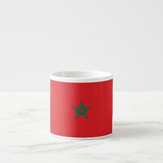 モロッコの旗 エスプレッソカップ