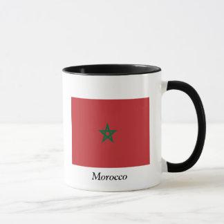 モロッコの旗 マグカップ