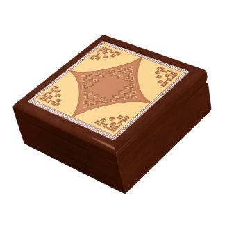 モロッコの格子宝石箱 スクエアギフトボックス大