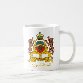 モロッコの紋章付き外衣 コーヒーマグカップ