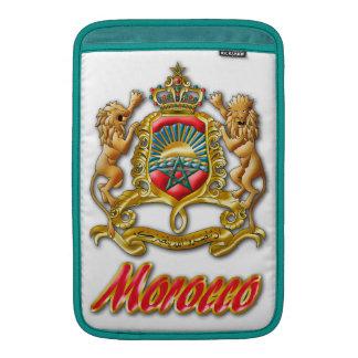 モロッコの紋章付き外衣 MacBook スリーブ