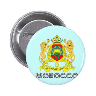 モロッコの紋章 5.7CM 丸型バッジ