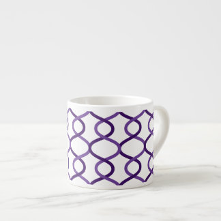 モロッコの織り方パターン エスプレッソカップ