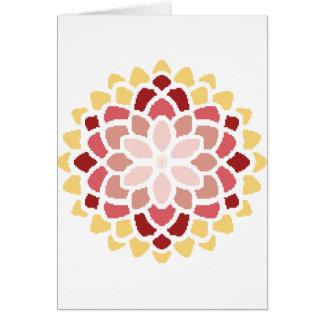 モロッコの開花 カード