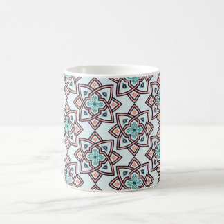 モロッコの陶磁器のデザインのクラシックのマグ コーヒーマグカップ