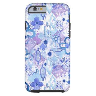 モロッコの青のiPhone6ケース ケース