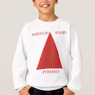 モロッコの食糧ピラミッド スウェットシャツ