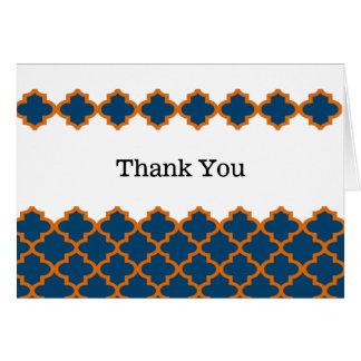 モロッコは感謝していしています カード