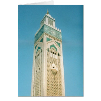 モロッコタワー カード
