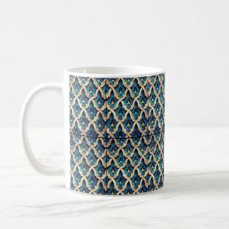 モロッコパターン コーヒーマグカップ