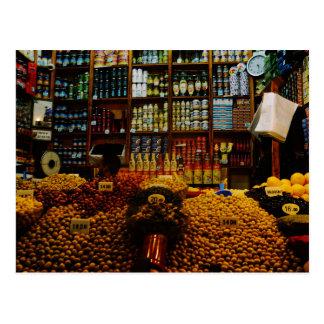 モロッコ: オリーブ色の恋人 ポストカード