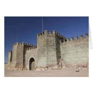 モロッコ、高い地図書の南で、OUARZAZATE: カード