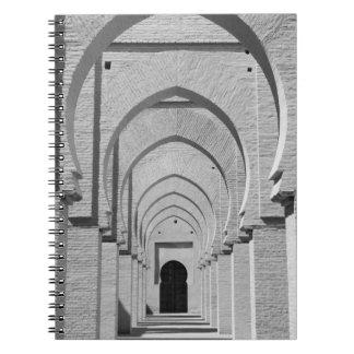 モロッコ、Tizi、Nのテストパスの道、錫MAL: ノートブック