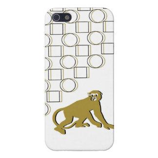 モンキービジネスのデジタル芸術のIPhoneの金箱 iPhone 5 カバー