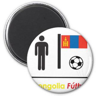 モンゴルのサッカー(futbol) マグネット