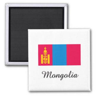 モンゴルの旗のデザイン マグネット