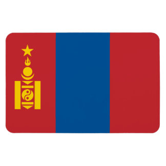 モンゴルの旗 マグネット