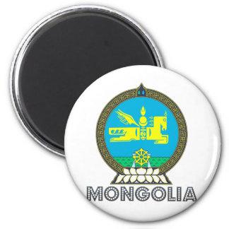 モンゴルの紋章付き外衣 マグネット