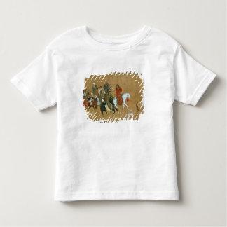 モンゴル人、中国語、14世紀の護送 トドラーTシャツ