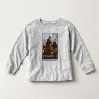 モンゴル トドラーTシャツ