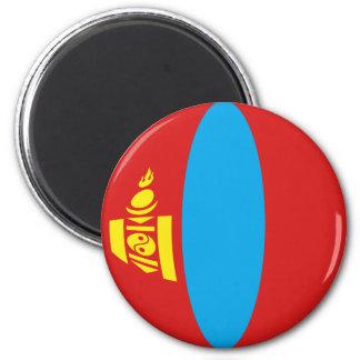 モンゴルFisheyeの旗の磁石 マグネット