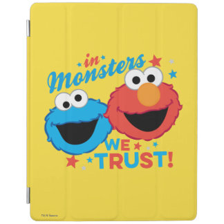 モンスターで私達は信頼します! iPadスマートカバー