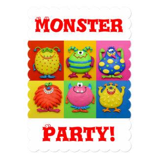 モンスターのパーティー カード