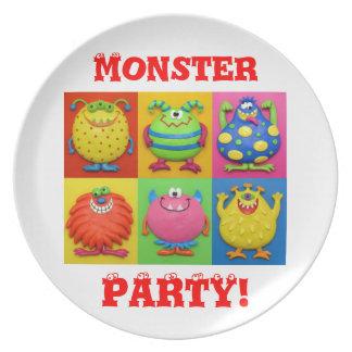 モンスターのパーティー プレート