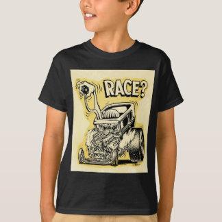 モンスターの漫画のoldschoolを競争させたいと思います改造しました tシャツ
