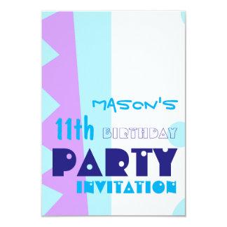 モンスターの第11誕生会Invitatioの歯 カード