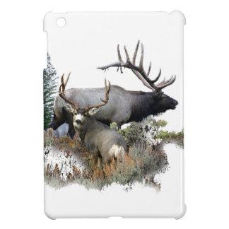 モンスターの雄牛のトロフィの木びき台 iPad MINIカバー