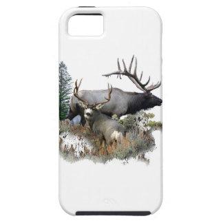 モンスターの雄牛のトロフィの木びき台 iPhone SE/5/5s ケース