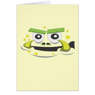 モンスターの顔 カード