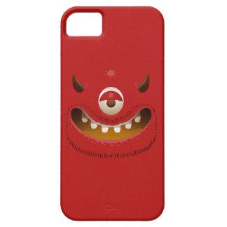 モンスターの顔 iPhone SE/5/5s ケース