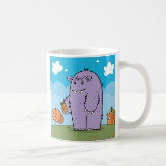 モンスターはチョコレート-マグ--を愛します コーヒーマグカップ