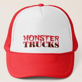 モンスタートラック-トラック運転手の帽子 キャップ