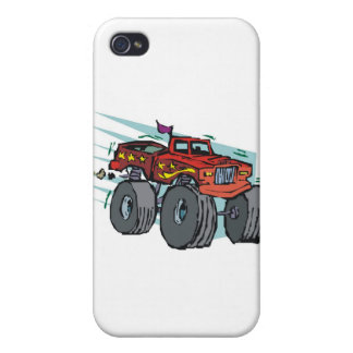 モンスタートラック iPhone 4/4Sケース