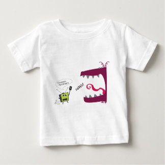 モンスター対TV ベビーTシャツ