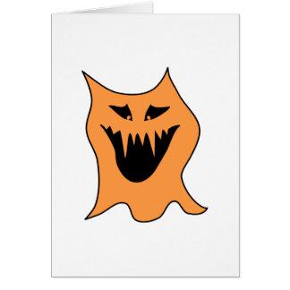 モンスター。 黒およびオレンジ カード
