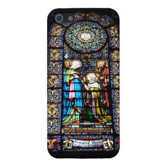 モンセラートのステンドグラス iPhone SE/5/5sケース