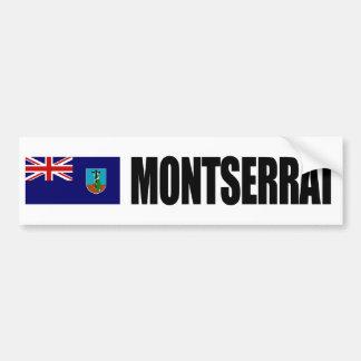 モンセラートの旗 バンパーステッカー