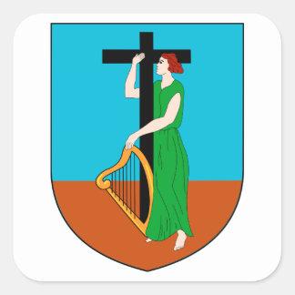 モンセラートの紋章付き外衣 スクエアシール