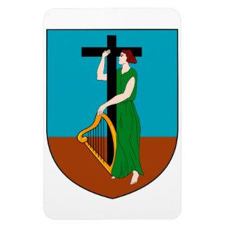 モンセラートの紋章付き外衣 マグネット