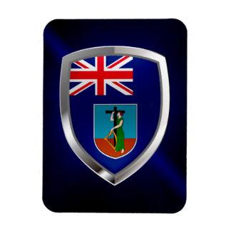 モンセラートの金属紋章 マグネット