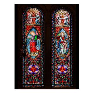 モンセラート修道院の窓 ポストカード