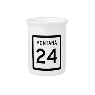 モンタナのハイウェー24 ピッチャー