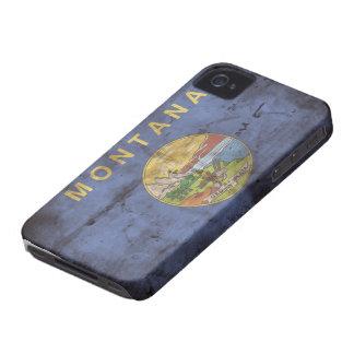 モンタナの古い旗; iPhone 4 ケース